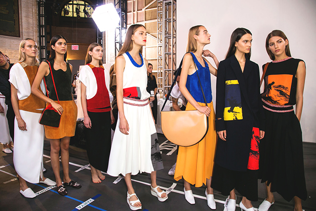 Victoria Beckham S/S '16: prints, colour and potential successors?