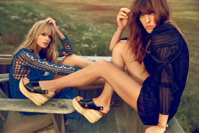 That 70s look: the fringe is back, baby