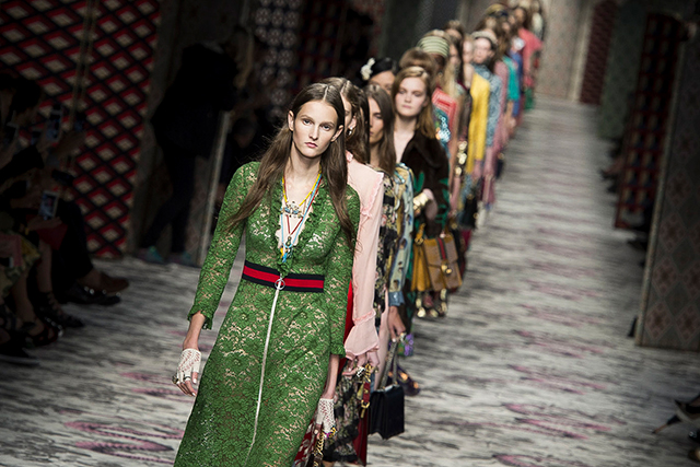 The glory of Gucci: see the breathtaking beauty that is S/S '16