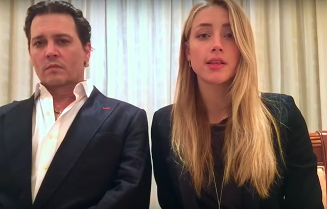Amber Heard and Johnny Depp's apology video is bizarre but brilliant