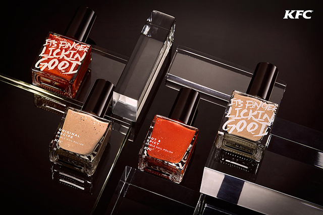 Finger lickin' good: KFC is launching flavoured nail polish