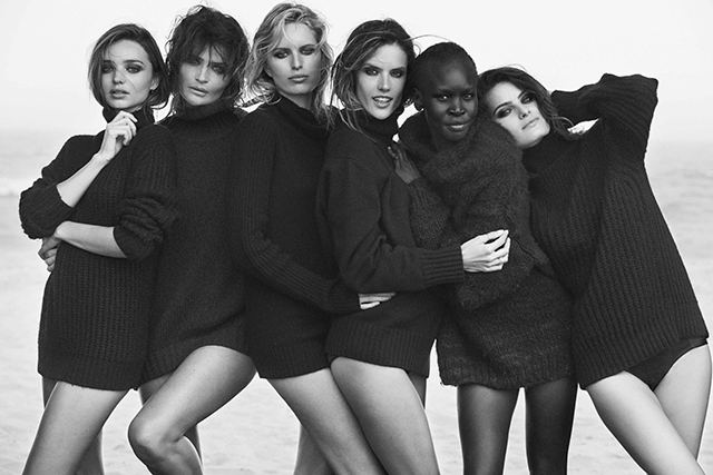 Guess who's back to shoot the 2017 Pirelli calendar?