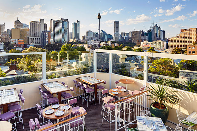 East Sydney's got a stunning new rooftop bar