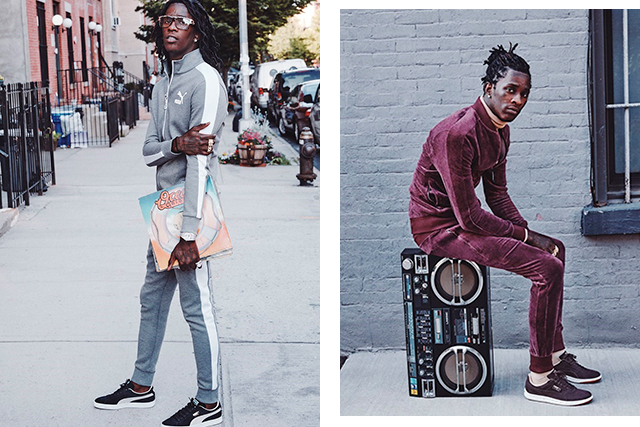 Young Thug is bringing back the Puma tracksuit – here's how