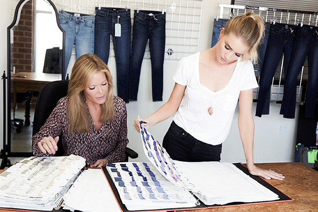 Sneak peak: Rosie HW x Paige denim collab