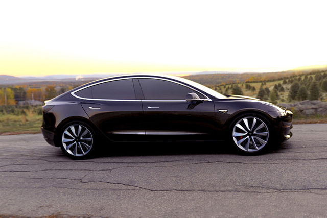 For the masses: Tesla has rolled out its first Model 3
