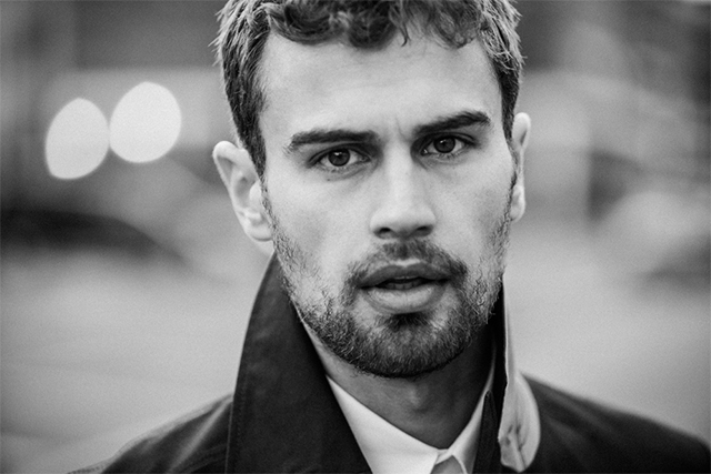 Theo James gets real about acting, Sydney and the power of scent