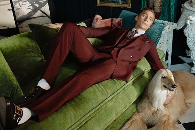 Tom Hiddleston lands Gucci Campaign