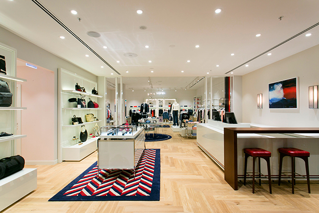 Inside Tommy Hilfiger's brand new Melbourne digs