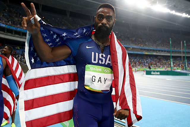 Olympic sprinter Tyson Gay's teenage daughter killed in shooting