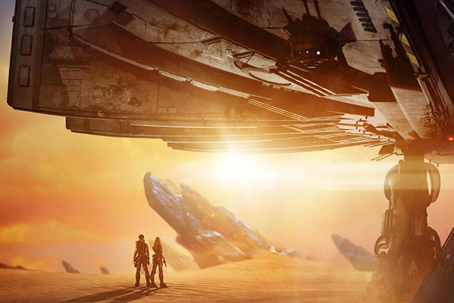 Valerian trailer: watch Cara D in Luc Besson's epic space flick