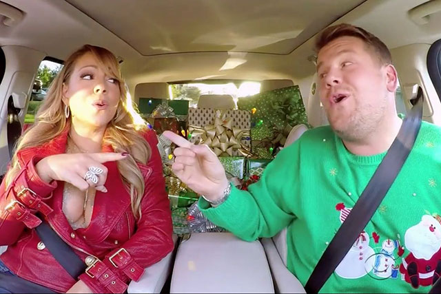 James Corden's Xmas carpool karaoke is the best thing you'll see all day