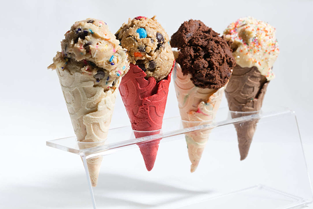 A cookie dough parlour has opened and your sweetest dreams have come true
