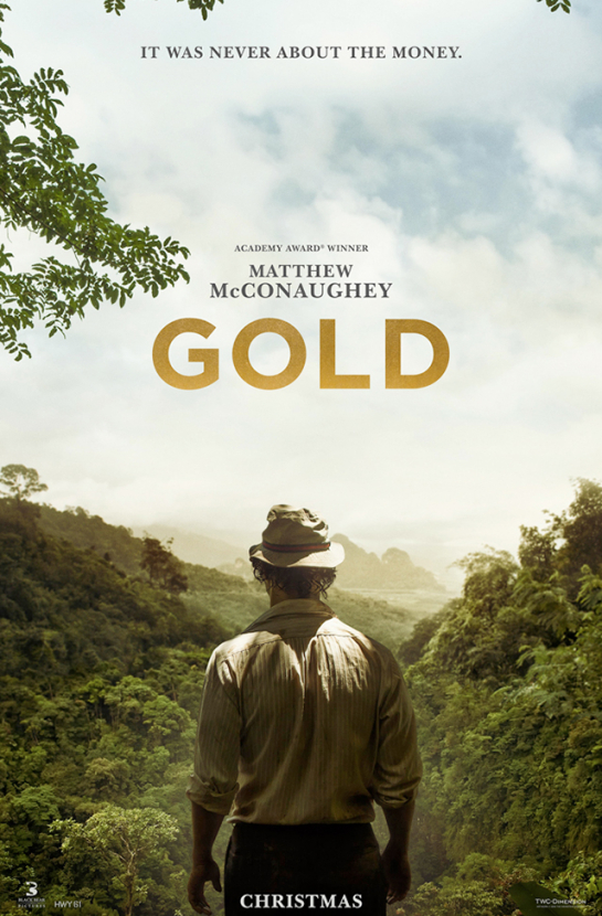 Gold trailer: you've never seen Matthew McConaughey like this