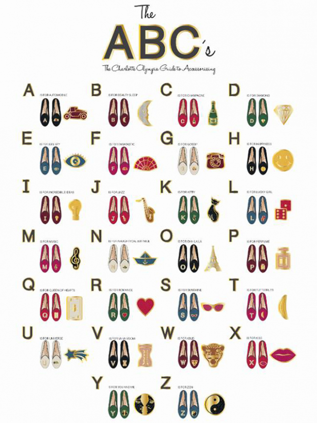 Flat out: Charlotte Olympia's new ABC collection