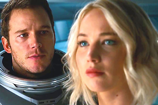 'Passengers' just dropped an even BIGGER trailer
