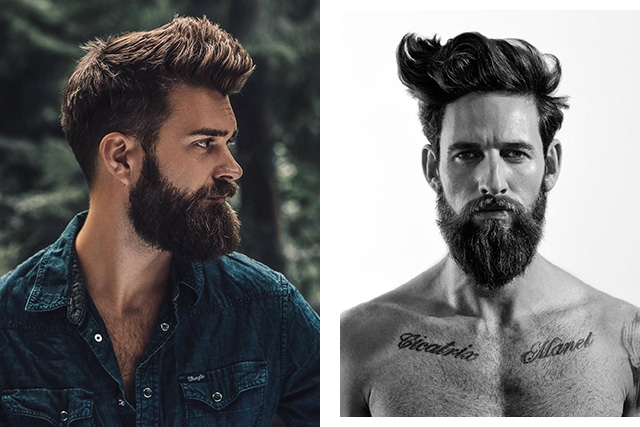 Beard trends of 2018.