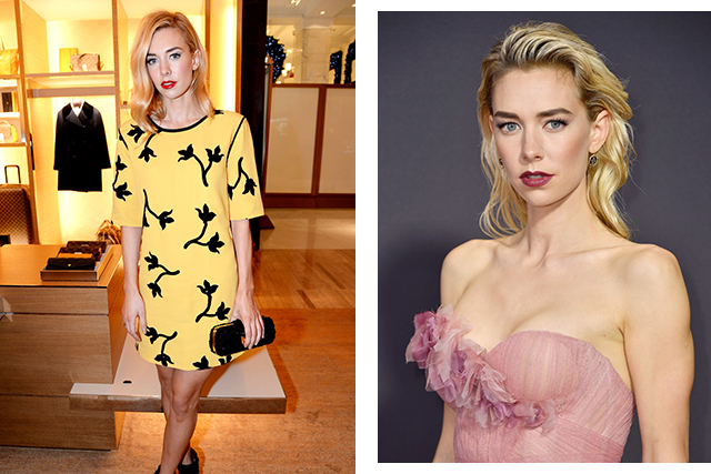 See how her royal character has influenced Vanessa Kirby's style.