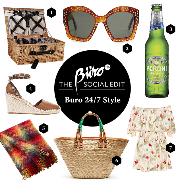 Click through to see the summer picnic essentials