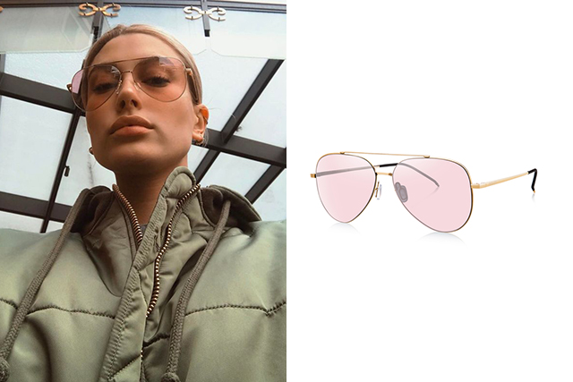 "Square: With a strong jawline and prominent forehead, square shaped faces are suited to curvier and rounded frames which playfully balance your striking characteristics. Classic aviators are the go-to, but you can also try a trendy cat-eye or butterfly cut to accentuate your eyes and off-set your angular features.<p><span style=""font-size: 17px;"">Bolon Eyewear, Legend in rose gold, $200. <br /></span><a style=""font-size: 17px;"" href=""https://www.boloneyewear.com/eu/ne/en/women/women-sunglasses/legend/BL8010.html?cgid=womens-sunglasses&dwvar_BL8010_frame=matte-black-grey-blue"">boloneyewear.com</a></p>