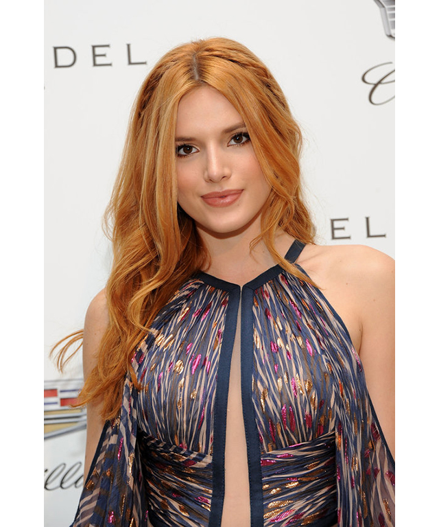 WARM RED | CELEB MATCH – BELLA THORNE | STRAWBERRY, COPPER, CRIMSON, AMBER, REDDISH BLONDE:  Fair and neutral skin tones work best with creamier, warmer reds, says Remington. A hint of golden copper tends to add warmth to the skin, which brings out the colour in your eyes.