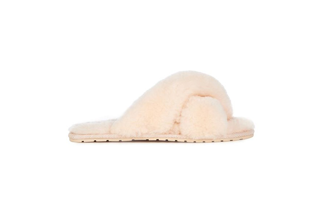 "FOR HER: Emu Australia, Mayberry Slipper, $59.95.<p><a target=""_blank"" href=""http://www.emuaustralia.com.au/All-Footwear/Mayberry/W11573.html?dwvar_W11573_colourName=NATURAL#start=1"">emuaustralia.com.au</a></p>"