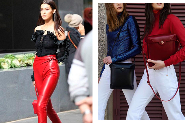 3.	Manu Atelier. Founded by Turkish sisters Beste and Merve Manastır in 2014, Manu Atelier bags are distinctive for their shape and small, forked logo. The daughters of a leathergoods manufacturer in Istanbul, the dream team have already found favour with Insta-girls like Bella Hadid.