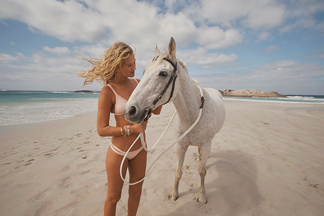 BTS of the Seafolly Summer 18 shoot