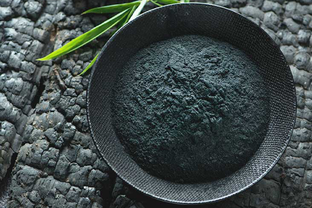 6. Activated charcoal. A tiny bit of this powerful detoxifier will make your water look something out of Mars, but don't worry, it is tasteless so a bit of lemon here would be great!