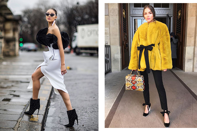 7.  Style icon/muse: I'm vibing Olivia Culpo now I'm a brunette - she sashays between classic chic and trendy so easily!