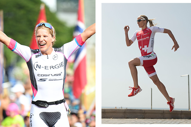 Anja Beranek is a multiple IRONMAN and IRONMAN 70.3 race winner and Daniela Ryf is a three-time IRONMAN world champion and triple IRONMAN 70.3 world champion.