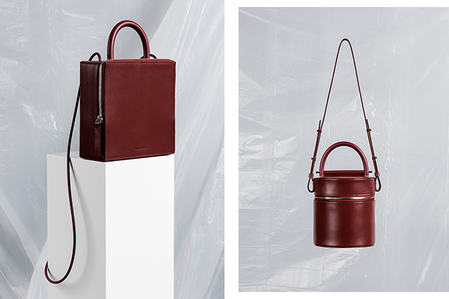 4.	Building Block. Another sister design duo, Kimberly and Nancy Wu base their business out of LA. Boasting a luxe minimalist aesthetic, these geometrical shaped handbags let their design do the heavy lifting.