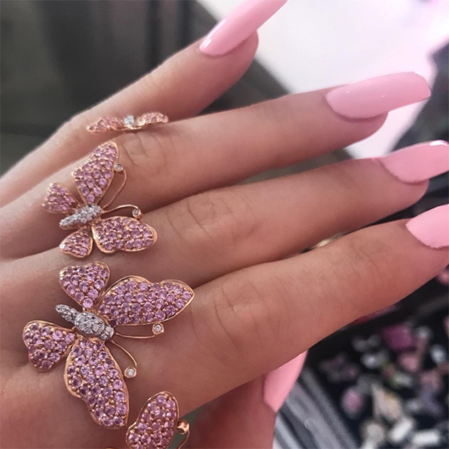 Fans are convinced that posts of Kylie Jenner's nails are cryptic hints from the reality star that she is having a baby girl.