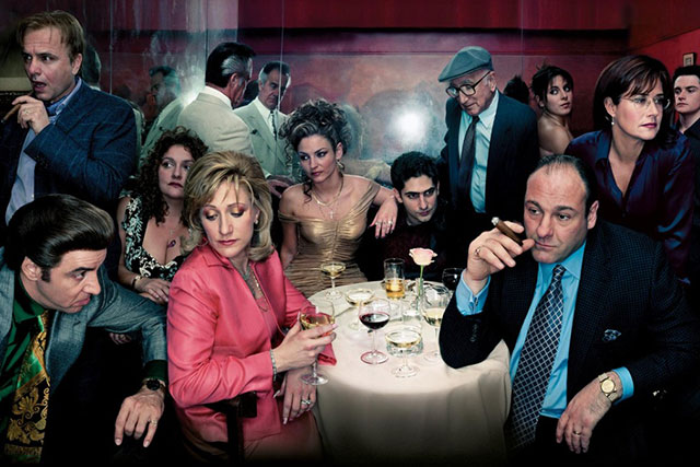 Watching: The Sopranos.... again!