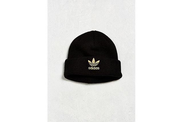 "FOR HIM: Adidas, Trefoil Knit Beanie, $25 (USD).<p><a target=""_blank"" href=""https://www.urbanoutfitters.com/shop/adidas-trefoil-knit-beanie-ii?category=mens-hats-beanies&amp;cm_mmc=CJ-_-Affiliates-_-ShopStyle%20Inc.-_-11389065&amp;utm_campaign=Affiliates&amp;utm_content=static&amp;utm_medium=affiliates&amp;utm_source=CJ&amp;utm_term=ShopStyle%20"">urbanoutfitters.com</a></p>"