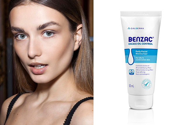 "Always moisturise: It sounds counterintuitive but using a moisturiser specifically formulated for oily skin, can in fact help improve the appearance and feeling of the skin. I recommend a lighter non-comedogenic hydrating moisturiser that will not leave excess oil on the skin on humid days.<p>Benzac, Excess oil control moisturiser, $12.95.<br /><a target=""_blank"" href=""https://www.priceline.com.au/brand/benzac/benzac-excess-oil-control-moisturiser-50-ml"">Priceline.com.au</a></p>"