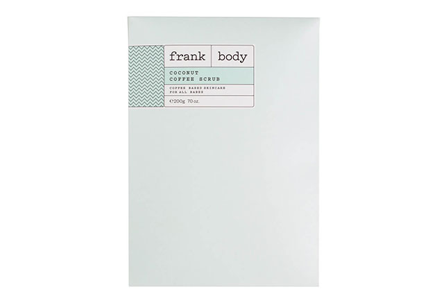 Frank Body Coconut Coffee Scrub, $18.95