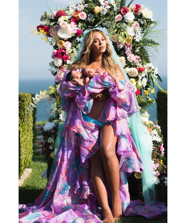 Beyonce: It was the birth announcement to end all birth announcements. Beyonce shared the first image of her twins Sir and Rumi Carter in July this year, following their birth in June. The post broke the record for the most liked picture on Instagram.