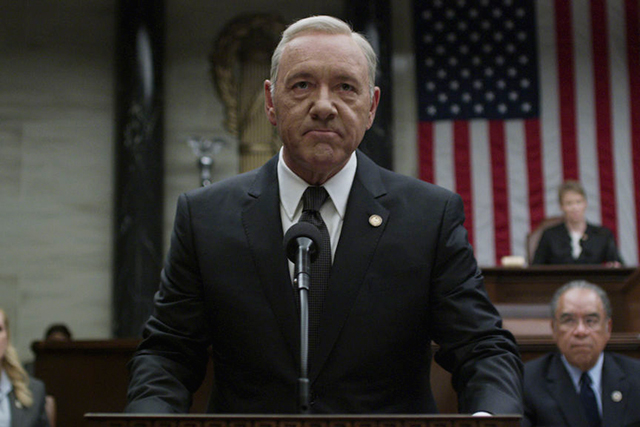 9. Watching: House of Cards.
