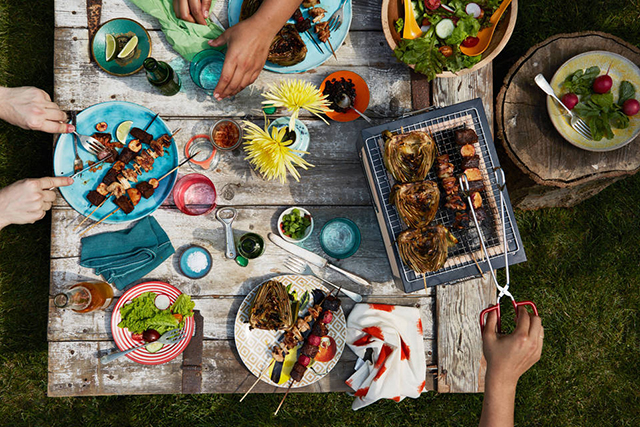 10.	Remember: sides and salads make a BBQ. Everyone can do a bit better than sausages and bread. Aim for a couple of sides or salads in your spread.