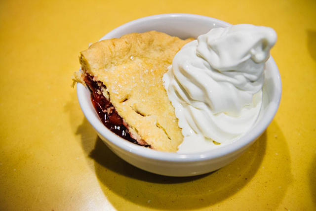 10.	Famous Cherry Pie at Twede's Cafe.
