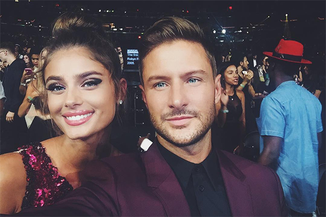 Taylor Hill and boyfriend Michael Stephen Shank