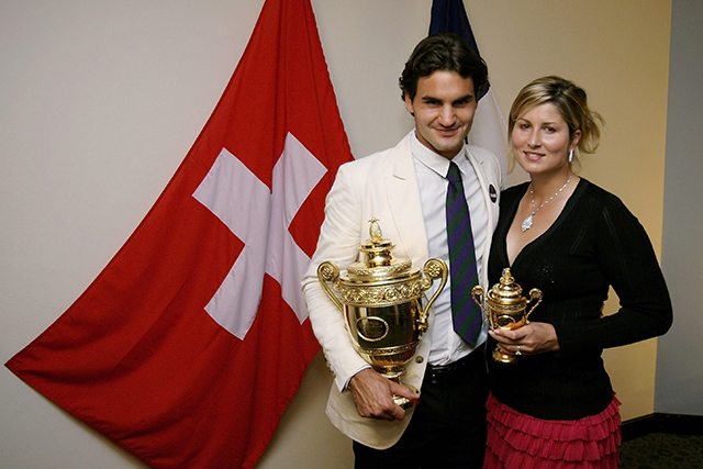 He's a dedicated husband who has been married to ex-pro tennis player Mirka Vavrinec since 2009.
