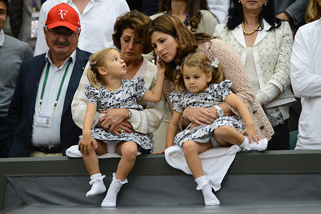 He's also a proud father of two(!) sets of twins: girls Myla Rose and Charlene Riva and boys Leo and Lennart.