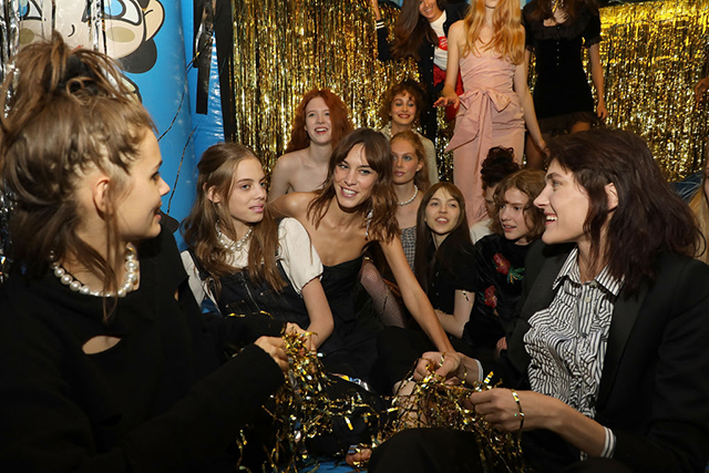 Alexa Chung 'Prom Goes Wrong' show