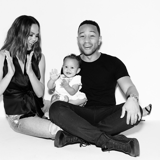 "Chrissy Teigen: The model is expecting her second child to husband John Legend, announcing the news  by sharing an adorable video of her daughter Luna inspecting her baby bump, with the hilarious caption: ""It's John's"""