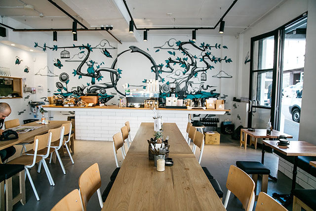 "Ouroboros Organic Wholefood Café, Surry Hills: When it comes time to make friends with salad, this is place to do it. With a ton of leafy menu choices such as the spiced-up lentil offering and daily specials (think: poached salmon salad or hearty home made vegetable soup) this corner café is the slim line lunch go-to.<p><a href=""http://www.ouroboroscafe.com.au"" style=""font-size: 17px;"">ouroboroscafe.com.au</a></p>