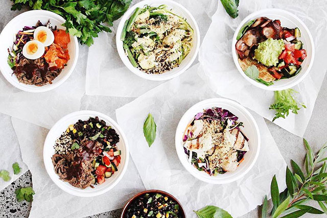 "Thr1ve: Founded by ex Sass & Bide CEO Josh Sparks, this eatery knows what the cool kids want. And they want real food, real fast. With five locations in Sydney there's no excuse not to eat clean. Dining options include build your own superfood bowl, grab and go bone broths, gluten free buns, vitality salad bowls, paleo pancakes and pared back burritos.<p><a href=""http://thr1ve.me"" style=""font-size: 17px;"">thr1ve.me</a></p>
