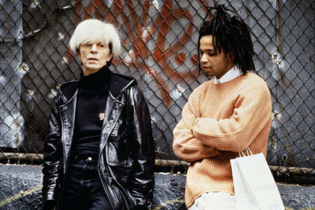 Another well-cast turn as the iconic artist Andy Warhol on 1996's 'Basquiat'.