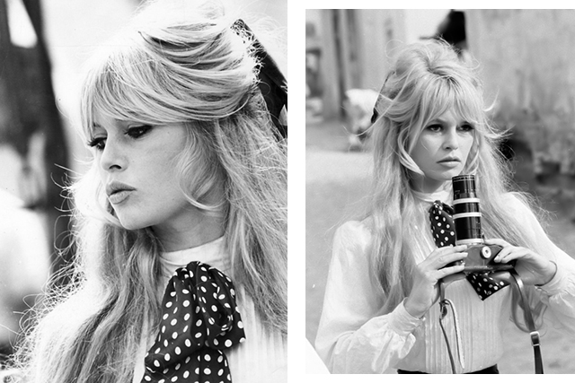 Curtain fringe inspo: Brigitte Bardot. Murphy says you need healthy hair to achieve this look so try a rejuvenating leave-in treatment like the Kevin Murphy Young.Again, RRP $54.95